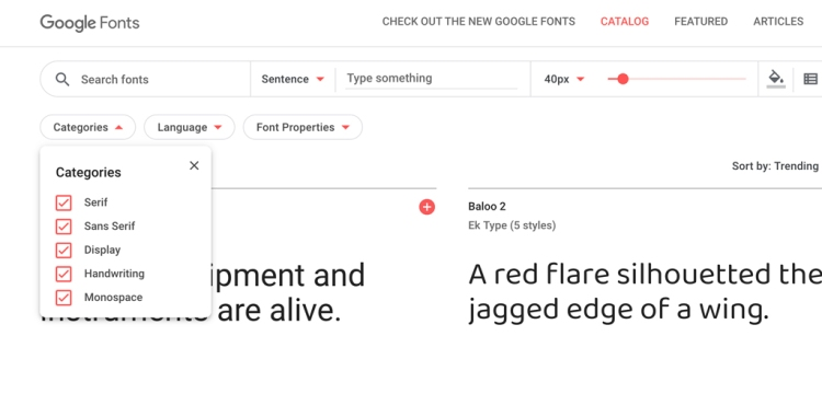The Best Free Digital Design Tools Available Right Now — Google Fonts