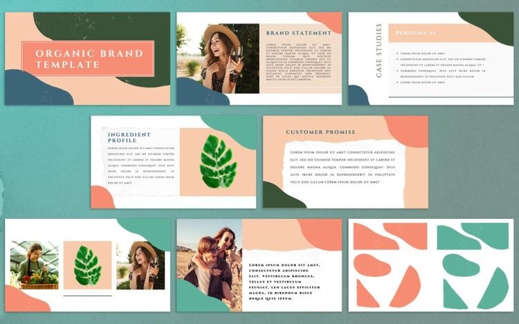 FREE Powerpoint Templates for Professional Presentations — Organic Branding Template