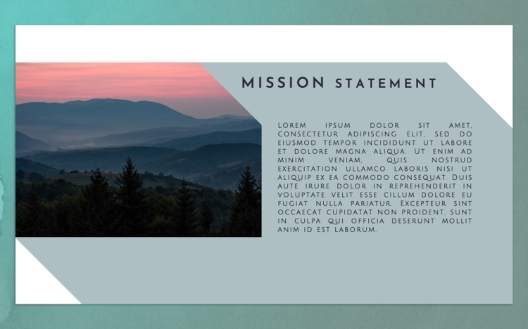 FREE Powerpoint Templates for Professional Presentations — Adding Photos to the Template