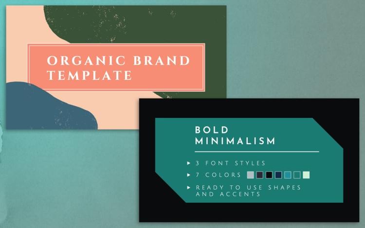 FREE Powerpoint Templates for Professional Presentations — Organic or Bold Minimalist