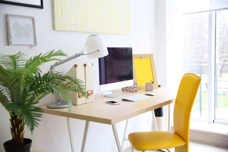 Working from Home: Creative Office Setups We Love — Bring Natural Elements into Your Work Space