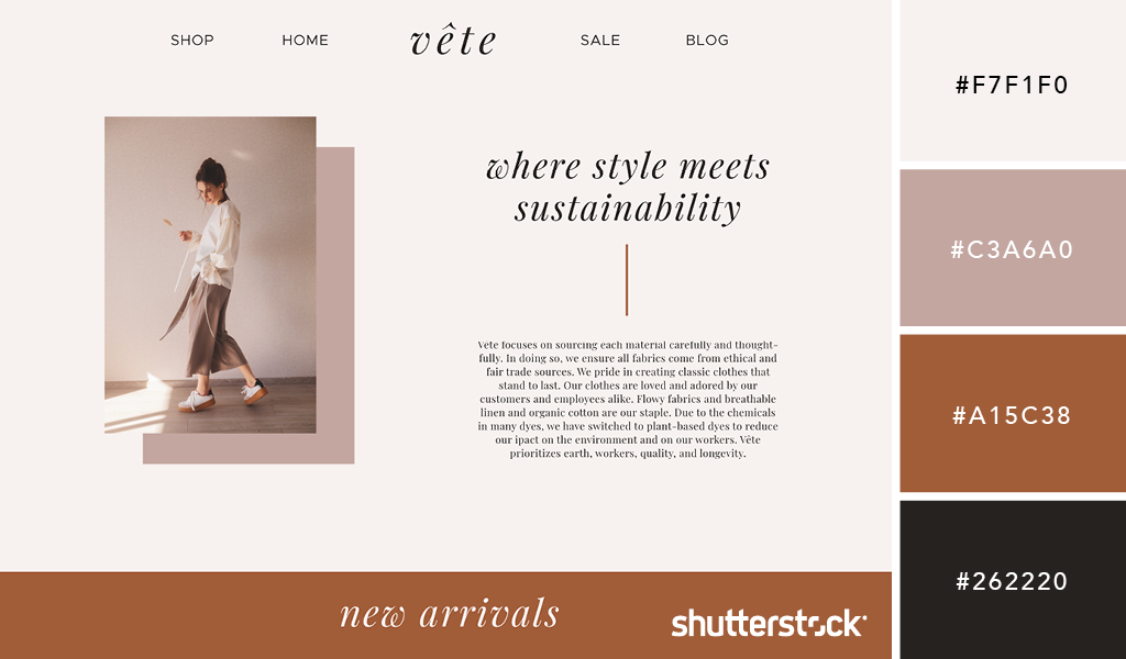 30 Refreshing Color Palette Ideas for Your Website — Muted Style