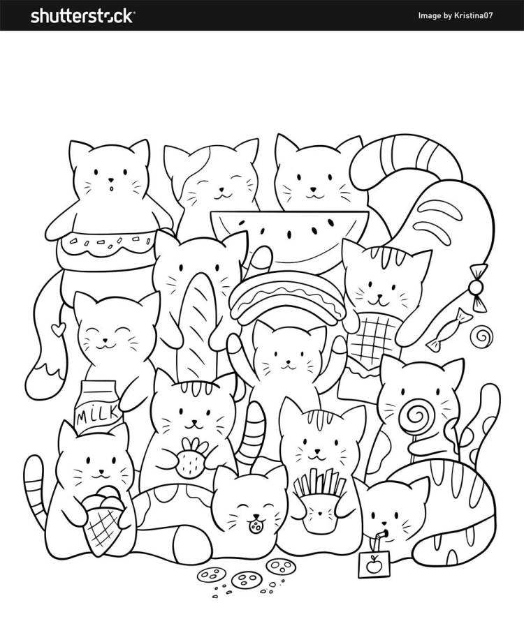 Free Coloring Book 8 Free And Fun Pages To Print And Color In