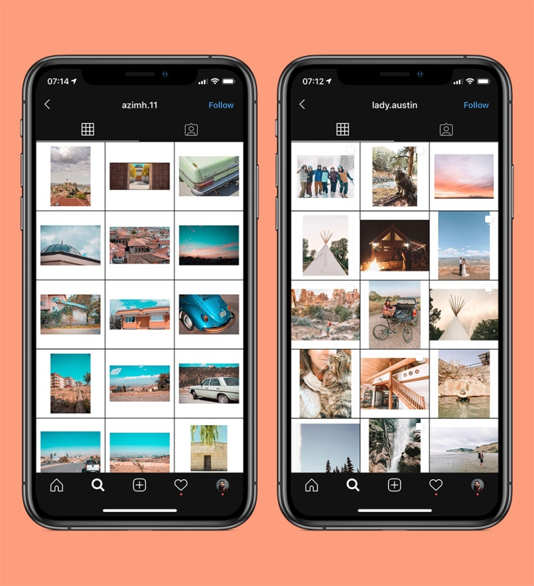 10 Fresh Styles to Try Out on Your Instagram Grid Layout — Experiment with Negative Space