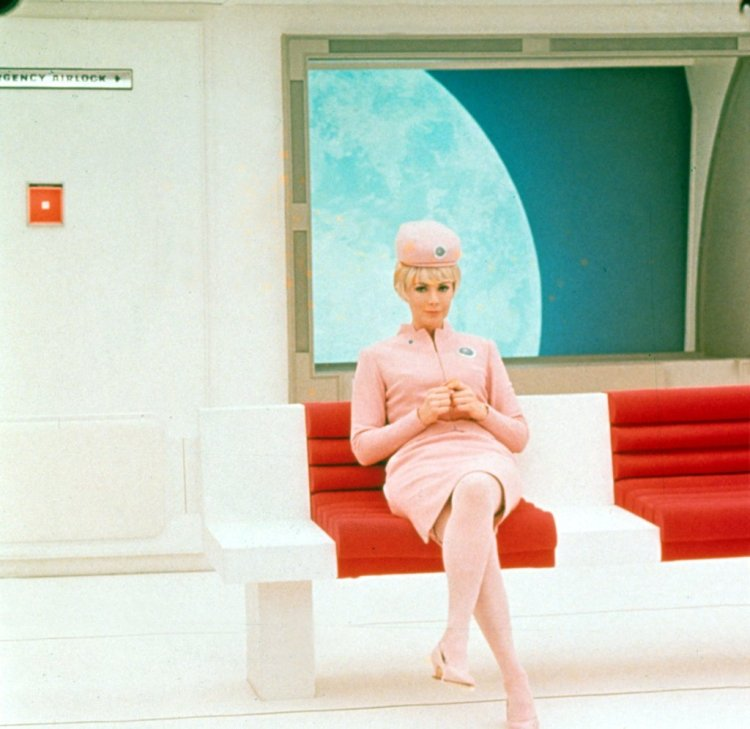 Maggie London in 2001: A Space Odyssey