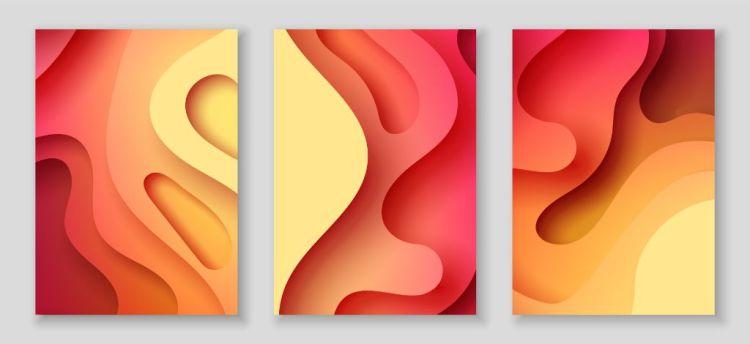 Vibrant 3D Background