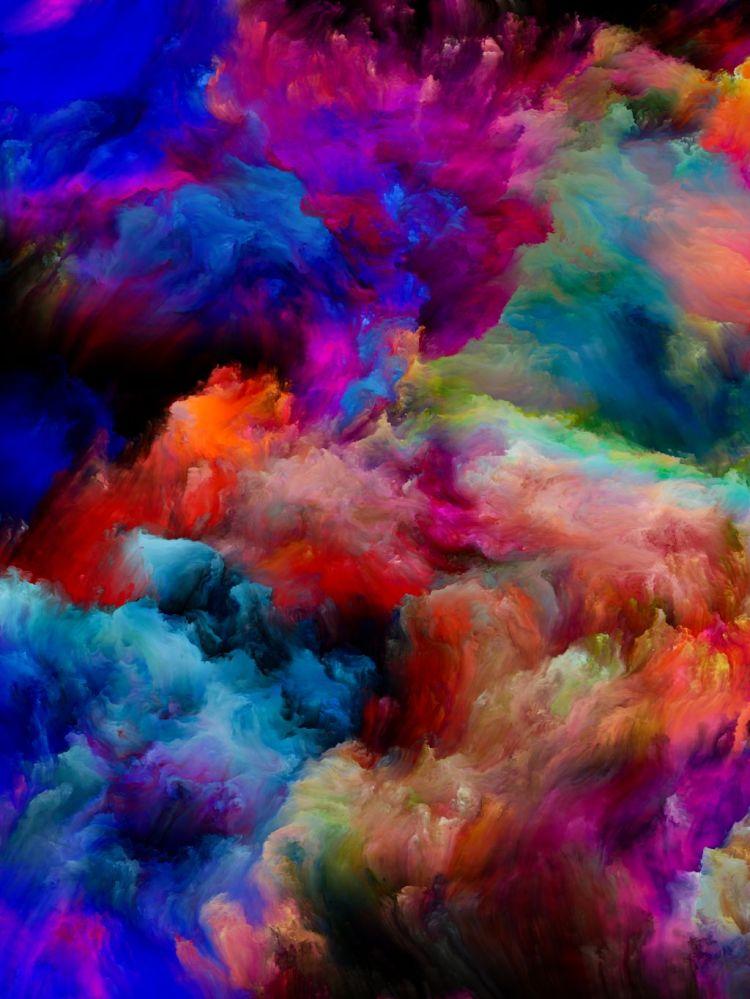 Colorful Cloud Textures