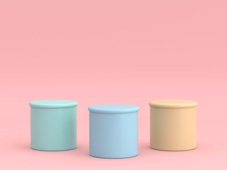 Youthful Pink Pastel Background