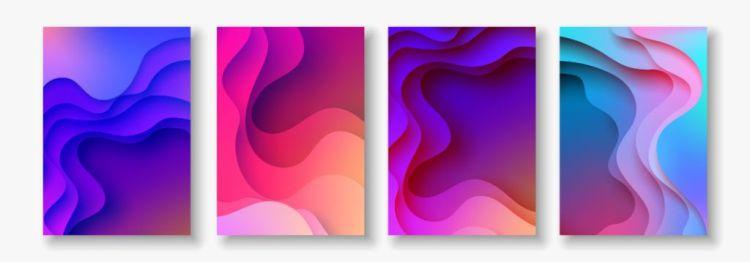 3D Abstract Paper Art