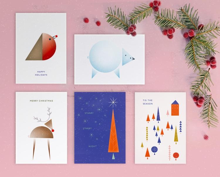 Free Festive Holiday Card Designs