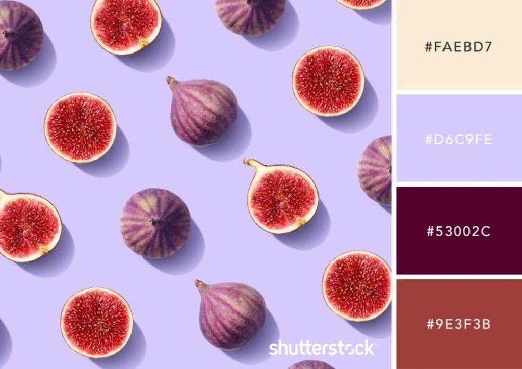 Fall Fruits Color Palette