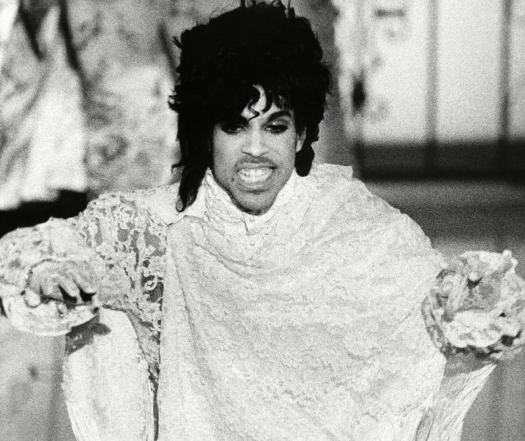 Prince Performs at the Grammys
