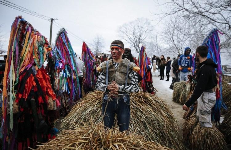Traditional Costumes of Malanka