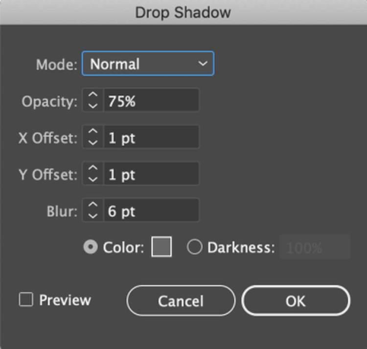 Drop Shadow