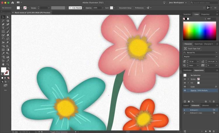 Final Design in Adobe Illustrator