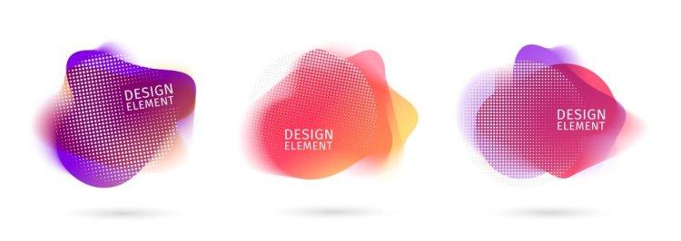 Blurred Design Elements