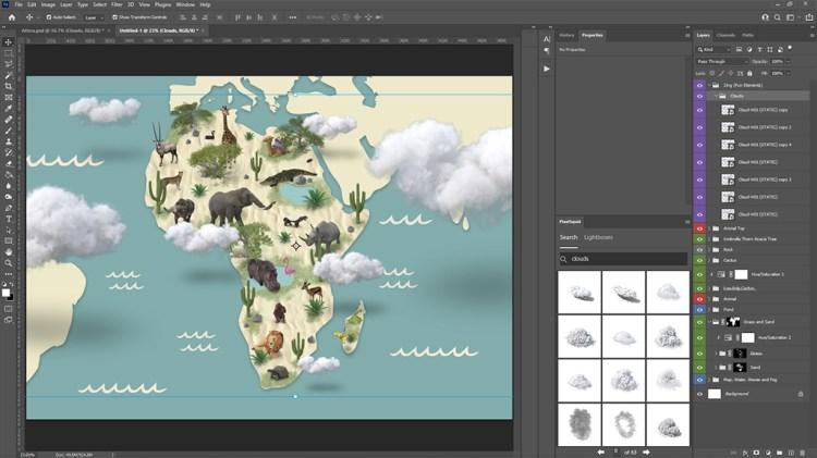 Adding Clouds